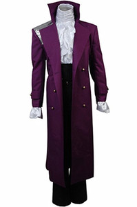 Purple Rain Cosplay Costume Prince Rogers Nelson Halloween Full Set