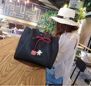 Bolsos de mensajero de las mujeres Mickey Bolsa Bolsos de cuero Bolsa de embrague Bolsa Feminina Mochila Bolsas bolso de noche femenino