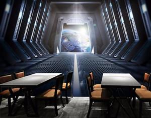 Ev geliştirme Özel 3d duvar kağıdı fotoğraf Şelale arka plan duvar Dekoratif resim sergisi TV zemin