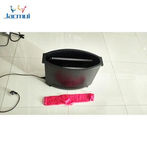 Rosso Blu Falso accendere il fuoco della fiamma 54 LED Fuoco fase della macchina della fiamma della Seta macchina LED Effetti Speciali