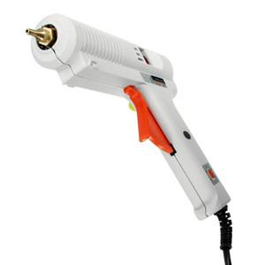 Freeshipping Pistolet à colle chaude EU Plug Haute résistance chauffante 100W / 120W Pistolet à colle thermofusible à température constante réglable Réparation de greffe pour AY194-SZ