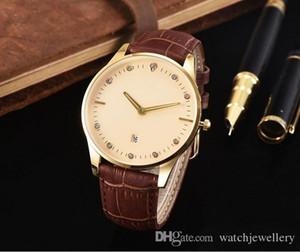 Nova marca de quartzo assistir amantes relógios mulheres vestido relógios vestido de couro relógios de pulso moda casual relógios
