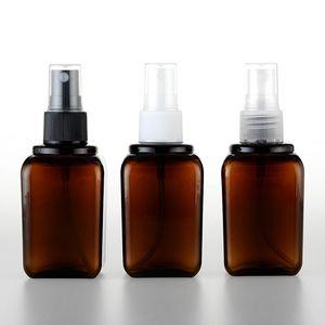 Botella de spray de 80 ml botellas cosméticas portátiles 80cc botellas de plástico PET vacías envío rápido F807
