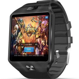 3G WIFI QW09 Android Smart Watch 512 MB / 4 GB Bluetooth 4.0 Real-Pedometro SIM Card chiamata Smartwatch anti-perso PK DZ09 GT08