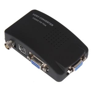 S-video de BNC da tevê ao apoio 1080P CAS_715 da caixa de Digitas do adaptador do conversor de VGA