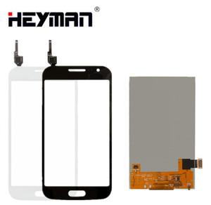 Samsung Galaxy Win I8550 I8552 için LCD Dokunmatik ekran LCD ekran Digitizer Cam Panel Ön Yedek parçalar