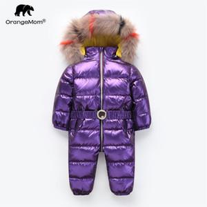 Orangemom inverno Macacão bebê meninas casaco de inverno para meninos roupas, engrossar infantil menina casaco infantil snowsuit parka do bebê