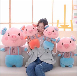Super Cute Lovely Pig Peluche Cuscino Morbido Lying Pig Toy peluche Kawaii Toy Kid Girl Gift