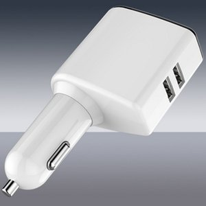 Nuova alimentazione veloce di USB del doppio dell'esposizione digitale del caricatore di automobile universale che carica con un caricatore multifunzionale del telefono cellulare del camino 20PCS EMS