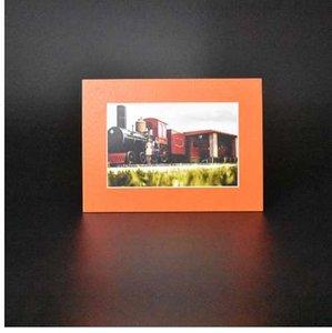 HAOTUO Fotoğraf Çerçevesi 45 Derece Konik Kesim Turuncu Karton Fotoğraf Paspaslar için 4x6 Resimleri Düğün Parti Dekorasyon Resim Çerçevesi 5 adet