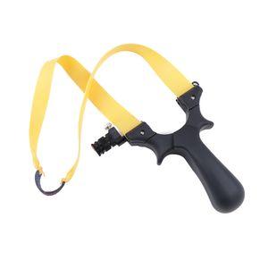 Puissant Portable Slingshot Catapult Professional résine ABS Sling Shot avec la lumière Aming point Tip plat Élastique Chasse Tir extérieur
