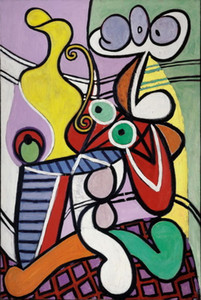 Hohe Qualität Handgemalte HD Druck Pablo Picasso Abstrakte Kunst ölgemälde Wohnkultur Wandkunst Auf leinwand Multi größen g163