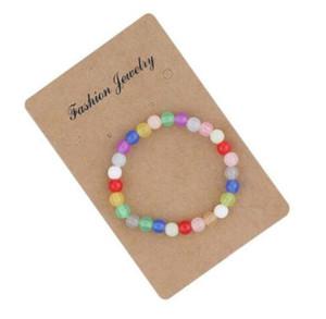 free shipping 20pcs lot Fashion Jewelry Charms Bracelet Candy Beads Bracelet Cute Bangles 20cm
