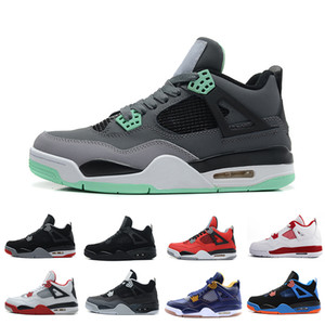 أحذية رجالية بالجملة 4-5-6-7-8-11-12-13 كرة السلة أحذية رجالي رخيصة 4s الحجية على الإنترنت للبيع أحذية رياضية رجال الرياضة الولايات المتحدة 8-13
