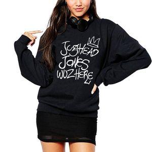 Vsenfo Jughead Jones Wuz Here Crewneck Sweatshirt Frauen-beiläufige Hoodies Hipster Fernsehsendungen Damen Juggie Sweatshirt