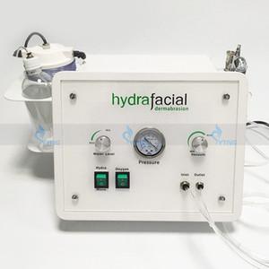 Спа Салон MicrodermaBrasion Гидрофабрикальная машина для ухода за кожей Портативный алмазной кожуры воды Кислородная струя очистки 3 в 1