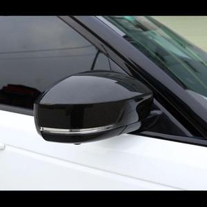 Углеродного волокна стиль зеркало заднего вида крышка накладка для Land Rover Range Rover Sport 14-18 Discovery 4 09-16 Discovery 5 17-18 ABS
