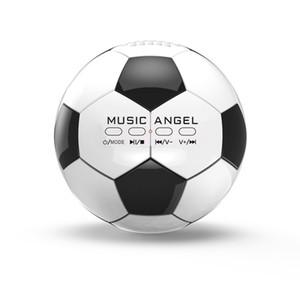 Musique Angel JH-ZQBT3 Mini Football Super Bass Lecteur MP3 Hi-Fi Bluetooth Haut-parleurs
