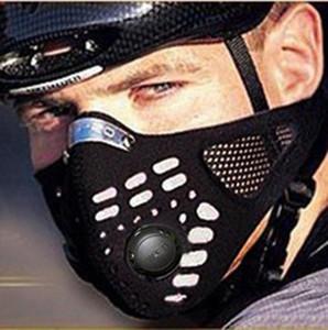 المنشط فلتر الهواء الكربون قناع الكاريبي قراصنة دراجات النارية الدراجات قناع أقنعة الدراجة دورة نصف الوجه الغبار