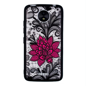 Lace phone case protection shell dustproof replacement shell Suitable for: MOTO-CPLUS big mandala flower phone case