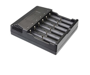Trustfire TR-012 Battery Charger Multi-output Interfaces 6 Charging Slots Suitable for Different Countries and Regions LLFA