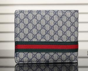 Moda Carta Dobrável Carteira Preta Bolsa Clássico Vermelho Curto Carteira Presentes Para Homens Mulheres Designers sup Carteiras Negras Sacos