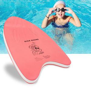 Colorful A-Shaped Swim Swimming Kickboard hot sale factory price floating plate EVA foam float swimming board