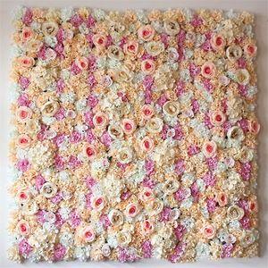 40 * 60 cm della seta della parete del fiore della decorazione di cerimonia secco fondale parete del fiore artificiale background parete del fiore Puntelli fotografiche