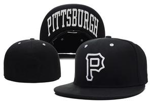 Новое прибытие Пираты P письмо бейсболки casquette де marque gorras planas хип-хоп Мужчины Женщины установлены шляпы