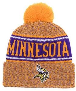 New Fashion Unisex Inverno Minnesota Cappelli per uomo donna Beanie lavorato a maglia Cappello di lana Uomo Maglia Bonnet Beanie Gorro Warm Cap