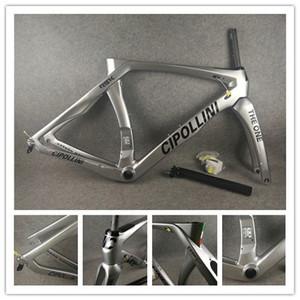 Щепка Cipollini RB1K один черный логотип дорожный велосипед рамка глянцевая углерода дорожный велосипед frameset BB86