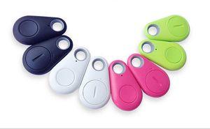 Micro Mini Smart Finder Smart Wireless Bluetooth 4.0 Tracer Localizzatore GPS Tracking Tag Allarme Portafoglio Chiave Pet Dog Tracker con scatola al minuto OM-CH3