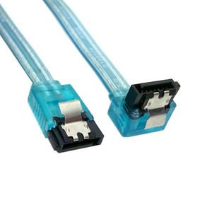 50 см SATA 3.0 III 6 Гбит/с высокоскоростной HDD кабель для передачи данных шнур 6GBS PC жесткий диск разъем кабеля ясно синий