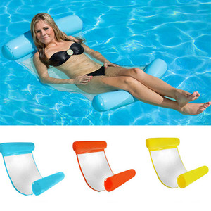 New Summer Swimming Pools Inflatable Floating Water Hammock Lounge Bed Chair Summer Inflatable Pool Float Floating Bed WX9-593