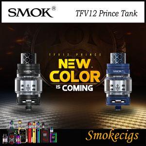 SMOK TFV12 Prince Tank Standard Edition 8ML Gran capacidad Cloud Beast Tank con V12 Prince Series Coils Allround 100% Original