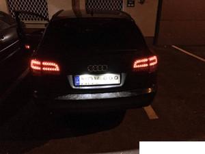 Luces de placa LED de coche para Audi A6 C7 A1 A7 TT VOLKSWAGEN VW GOLF 6 PASSAT B6 B7 Polo 4D Jetta MK6 Touran Touareg
