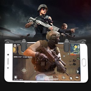 Controlador Game Trigger Fire Button L1R1 para Samsung iPhone High Quality PUBG Shooter Mobiele Smart telefoons r15