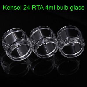 para Vandyvape Kensei 24 RTA 4 ml tubo de vidrio de reemplazo burbuja vape bombilla fatboy tubo de vidrio del tanque envío gratis