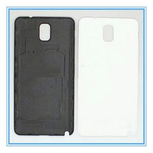 لجهاز Galaxy Note3 ، باب خلفي بلاستيكي ، باب خلفي ، أبيض وأسود ، لهاتف Samsung Galaxy Note 3 N9000 N9005