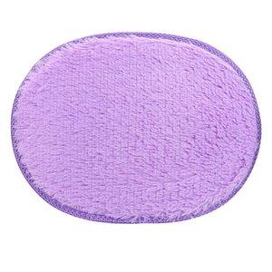 Fashion and Practical 30*40cm Anti-Skid Fluffy Shaggy Area Rug Home Bedroom Bathroom Floor Door Mat 9 21