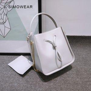 2017 new arrive fishion women handbag female solid leather lady handbag messenger bag crossbody bucket tote bag