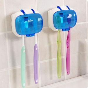 칫솔 살균기 벽걸이 형 램프 소독 상자 항 박테리아 자외선 칫솔 홀더 소독제 클리너 케이스