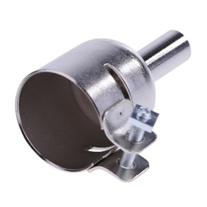 3pcs 5 / 8 / 10mm 용접 노즐 스테인리스 뜨거운 공기 노즐 858D 878D 898D 납땜 역 용접 장비