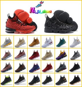 Altro Colore KITH L15 SVSM PE Equality Home and Away Men Running Designer Calzature sportive 15s Red Black Trainer