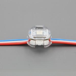 адресацией DC5V 20мм UCS1903 RGB пикселя модуль свет водить, цифровой полноцветной 5050 SMD RGB LED Pixel Light, 50modules / шнур, водонепроницаемый IP68