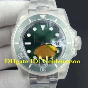 3 варианта цвета мужские В9 стали 904l Н лучшие фабрики мужской 40мм 116610 116610LN швейцарских коэф.3135 ETA 3135 механизм автоматические мужские часы Часы