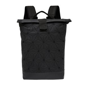 Patrones nuevo estilo geométrico mochilas Deporte Packs Negro Bolsa para hombre para mujer de Formación Mochila bolsas de viaje al aire libre Packs