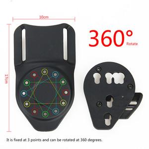 التكتيكية حزام مسدس الحافظة جبل محول منهاج الحزام 360 محول جبل هانت الحافظة التبعي CL7-0111