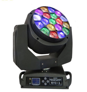DMX512 LED BEAM Moving Head Bee eyes لـ 19 × 15 وات rgbw 4 في 1 LED B-Eye 19 K10 Stage Light LLFA
