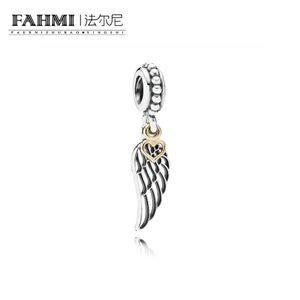 Fahmi 100% 925 Стерлингового серебра 1: 1 Оригинал 791389 Аутентичные темперамент мода гламур ретро подвеска свадебные женские украшения